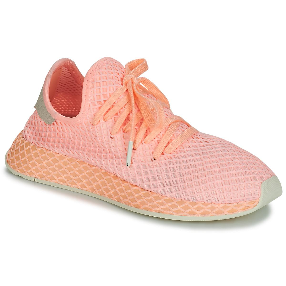 sports shoes 07667 bef41 adidas. Womens Pink Deerupt Runner W Shoes ...