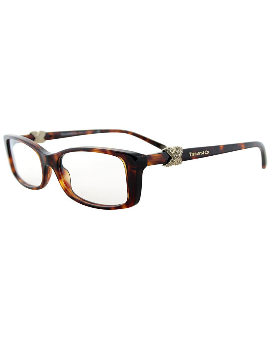 25faa40fff Tiffany   Co. Women s Tf 2110b 8002 51mm Optical Frames in Brown - Lyst