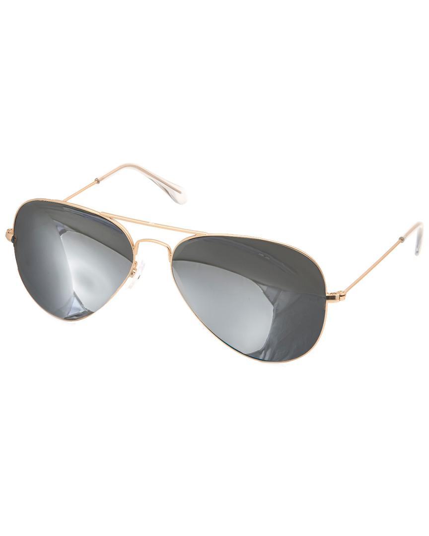 483954bc6a Lyst - Aquaswiss Aqs Unisex James Sunglasses in Metallic for Men