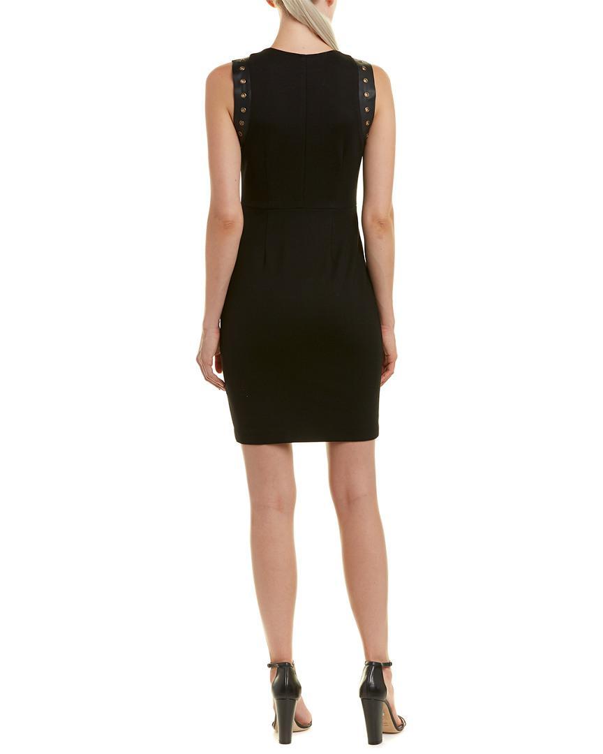 720fee70a33 Lyst - Drew Grommet Sheath Dress in Black - Save 40.963855421686745%