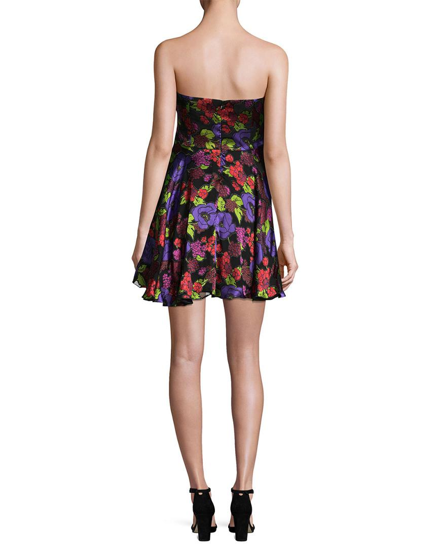 Anna Sui Gardenia Burn Out Mini Dress in Black - Save 51.282051282051285% -  Lyst a7112e066
