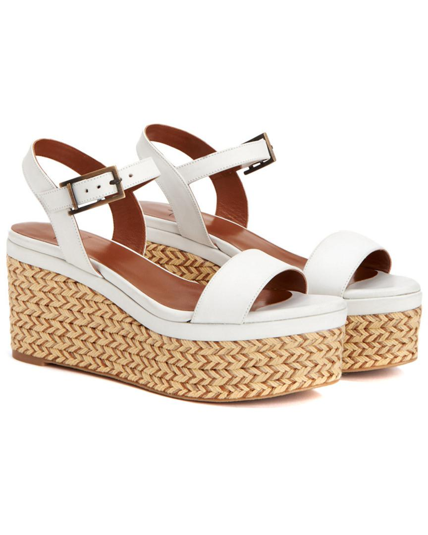 outlet nicekicks official site cheap price Aquatalia Leather Platform Sandals low price cheap price lowest price online Manchester sale online BluaIJ