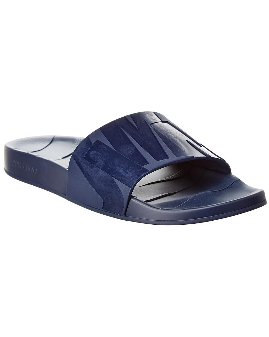 9957431b1588 Lyst - Jimmy Choo Rubber Slide in Blue for Men - Save 1%