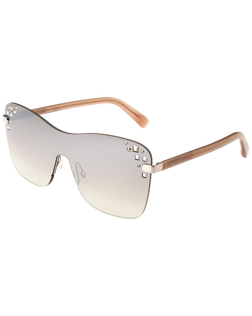 37b7e5bbbe0 Lyst - Jimmy Choo Mask 99mm Sunglasses - Save 33%
