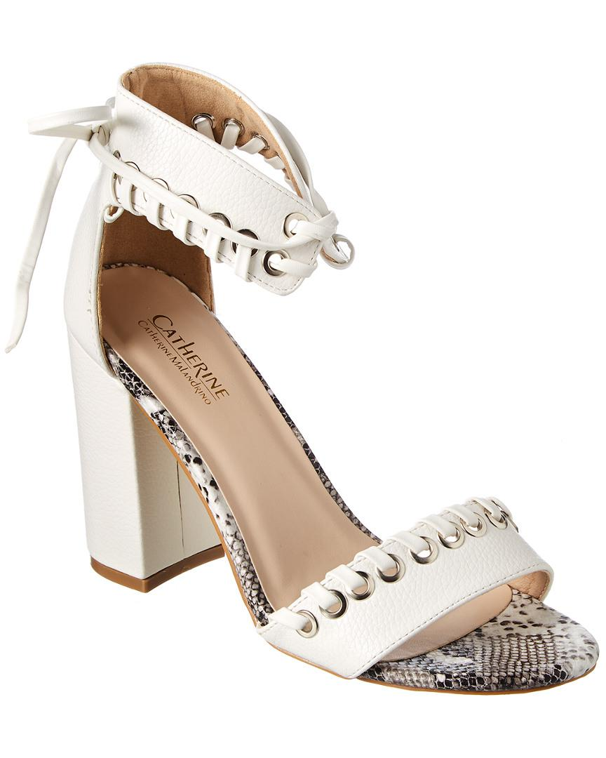 Catherine Catherine Malandrino Crista Metallic Studded Sandal lDoSaIaj
