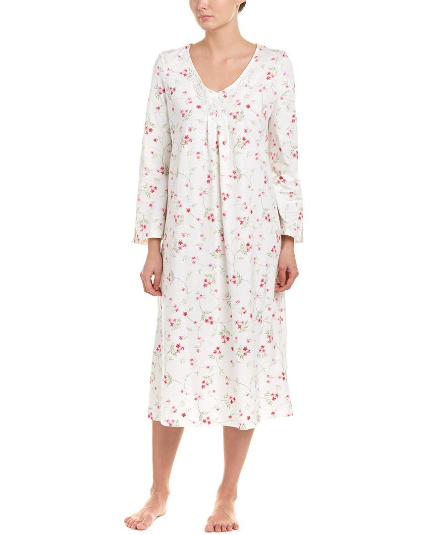 Lyst - Carole Hochman Long Gown in White - Save 26%