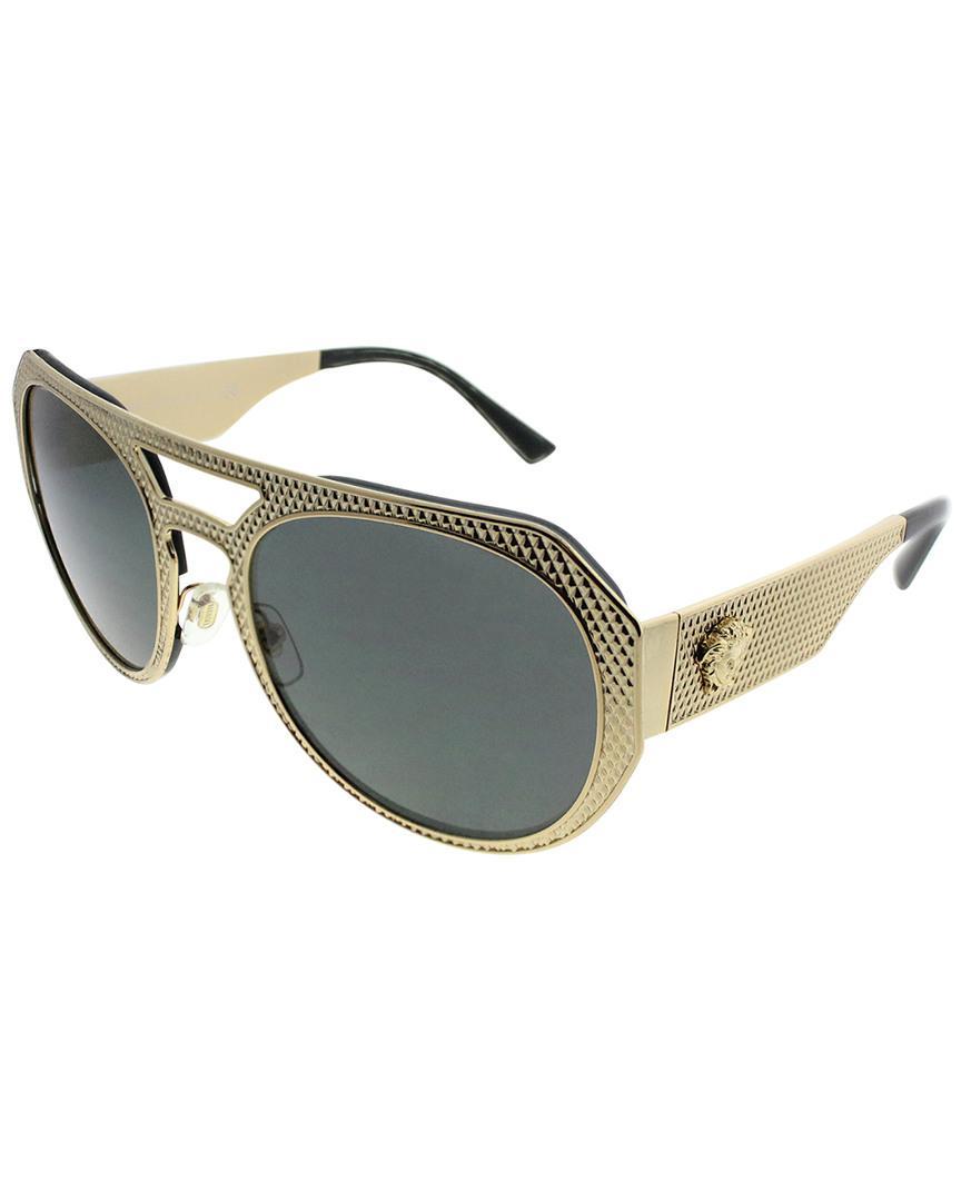 f2dd0385280 Versace Women s Ve2175 60mm Sunglasses - Lyst