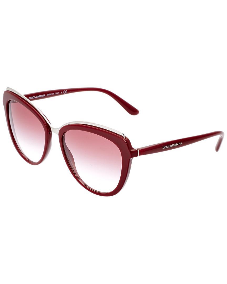 491346d9ed4 Lyst - Dolce   Gabbana Women s Dg4304 57mm Sunglasses - Save 12%