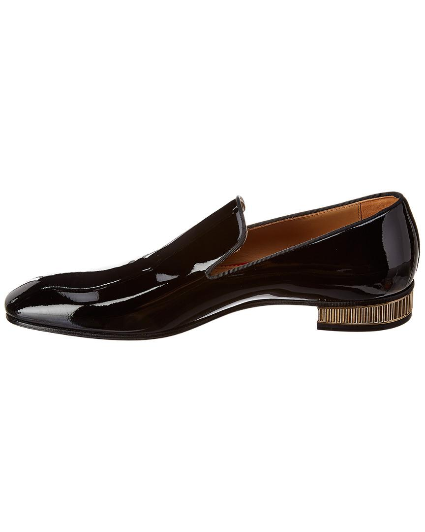 7a25b462ad5 Christian Louboutin Colonaki Patent Loafer in Black for Men - Save 21% -  Lyst