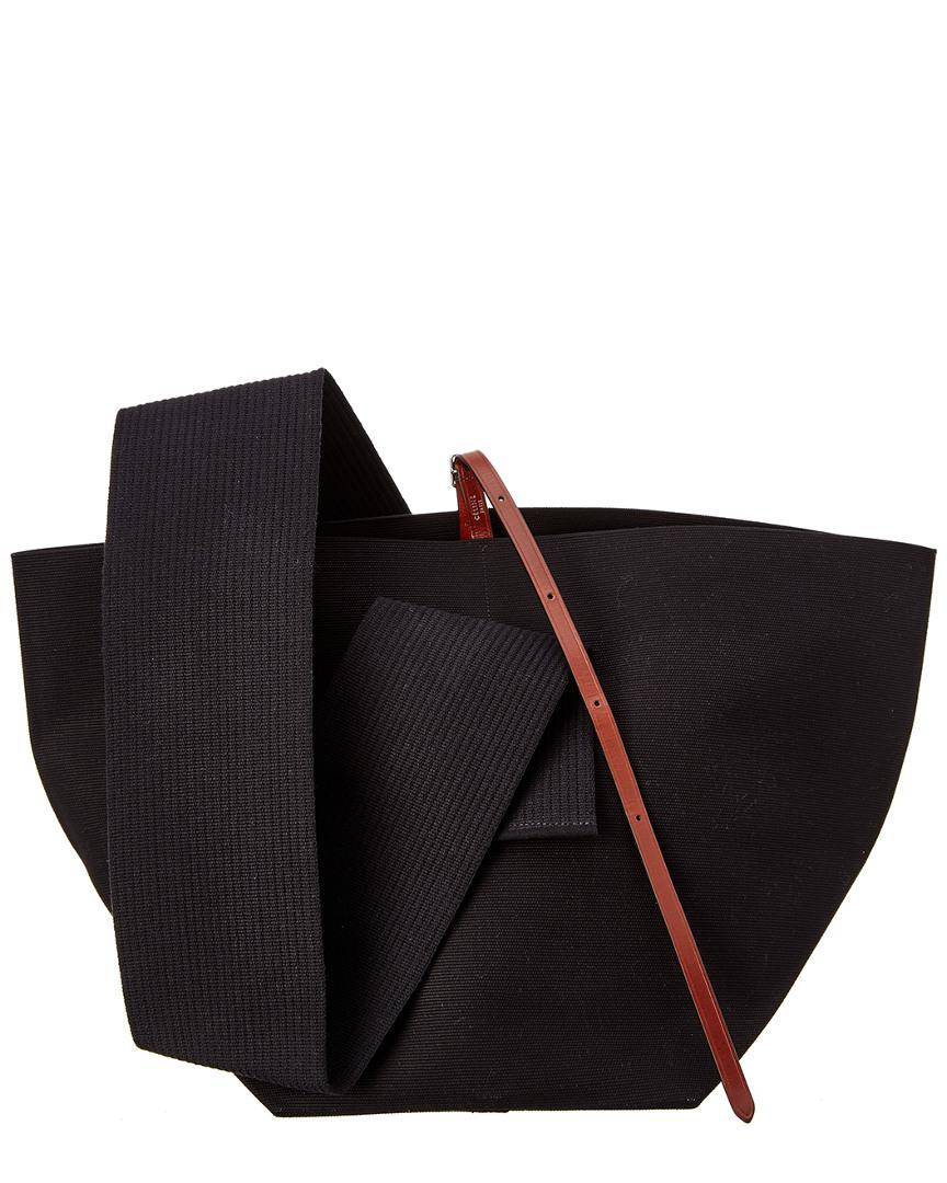 641649bdc7 Lyst - Céline Céline Medium Canvas Belt Bag in Black