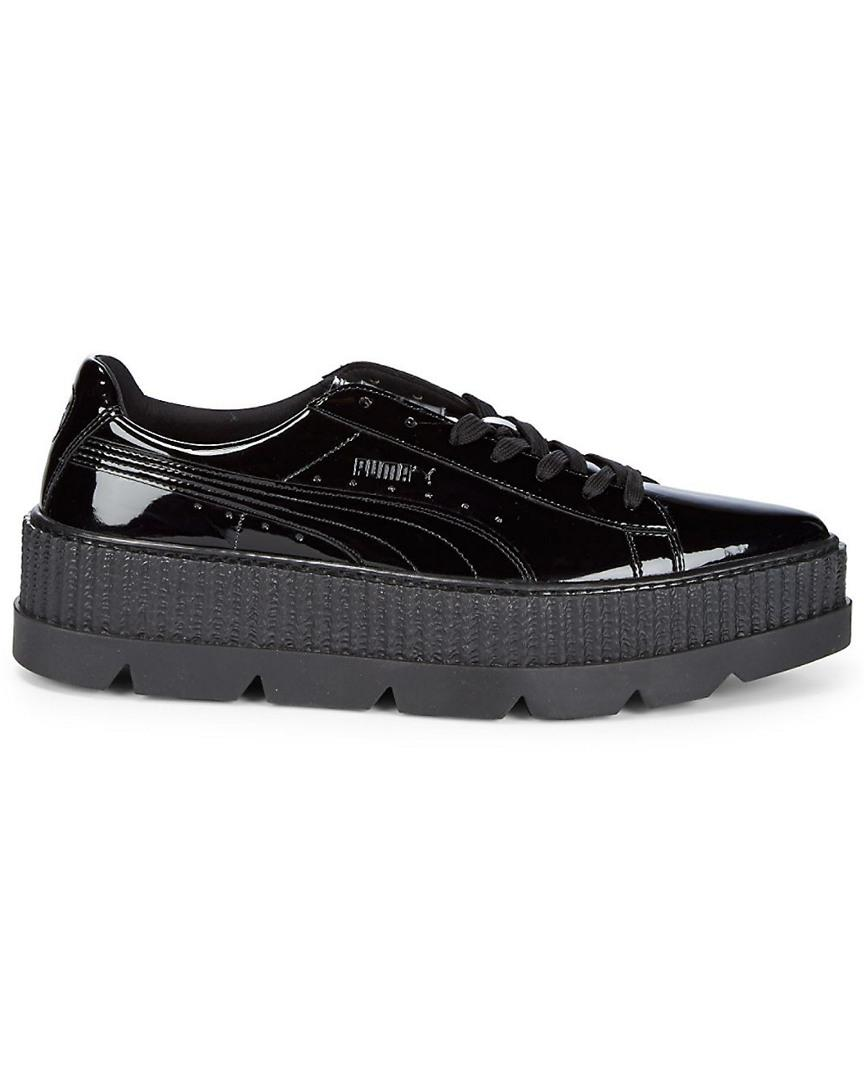 PUMA Pointed Toe Creeper Sneaker in Black - Save 50.53763440860215% - Lyst aabe09279