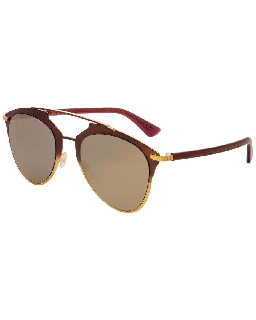 437697b0623b Lyst - Dior Reflected 52mm Sunglasses in Brown - Save ...