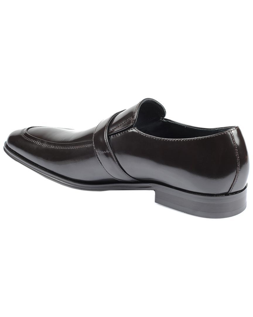 0786ee9f0ee Lyst - Versace Medusa Leather Loafer in Brown for Men - Save  0.526315789473685%