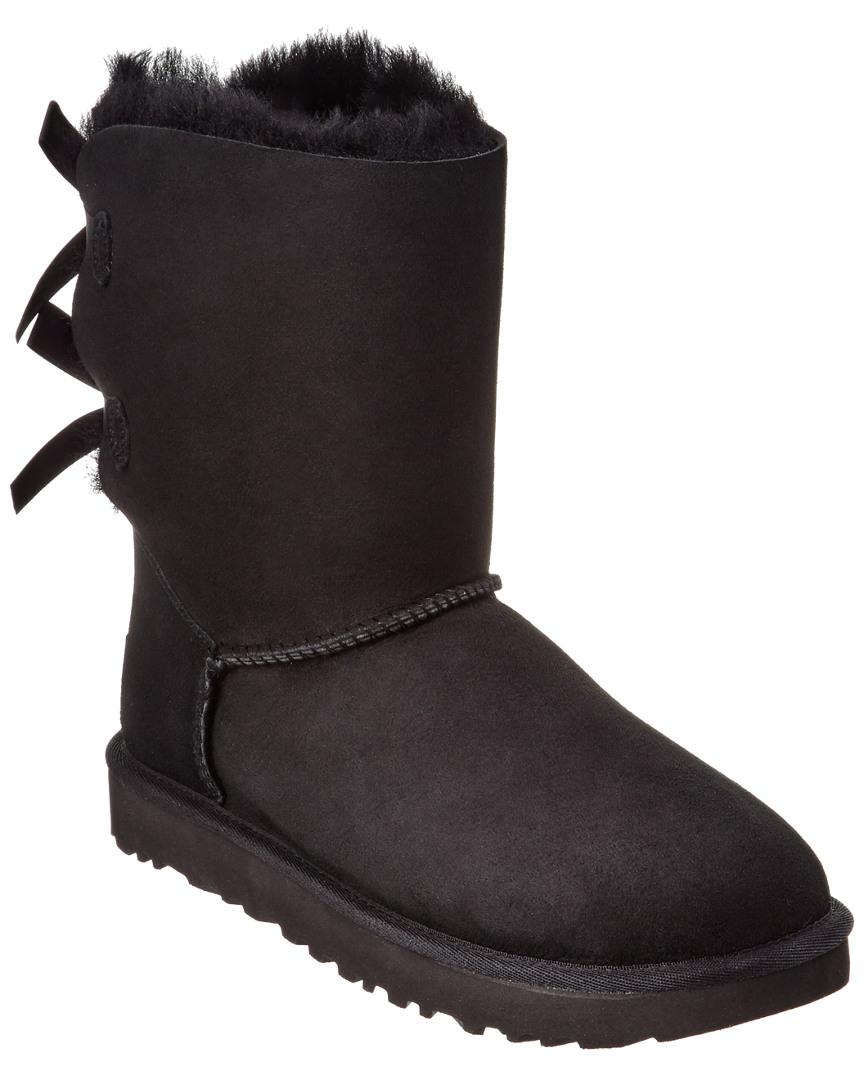 c6b9a841f12 Lyst - UGG Bailey Bow Ii Water-resistant Twinface Sheepskin Boot in ...
