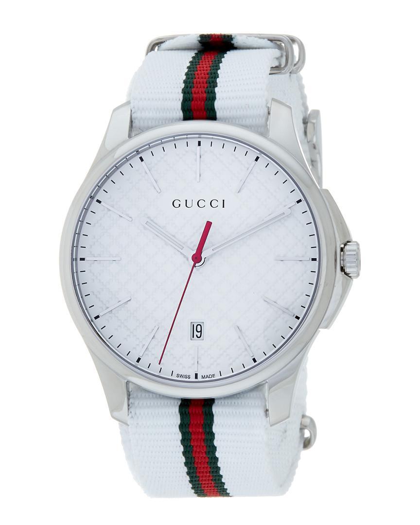 4eb69aea838 Lyst - Gucci Women s G-timeless Watch