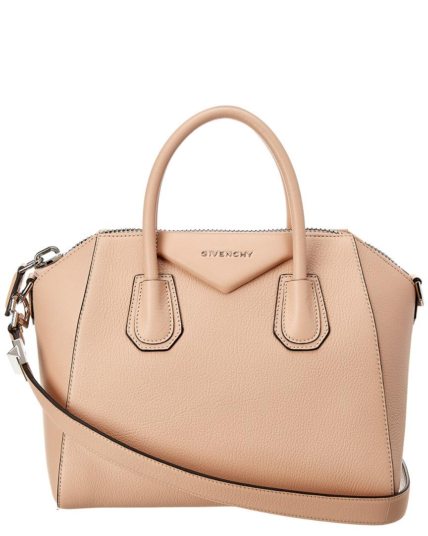 de2b4043c786 Givenchy - Natural Antigona Small Leather Satchel - Lyst. View fullscreen