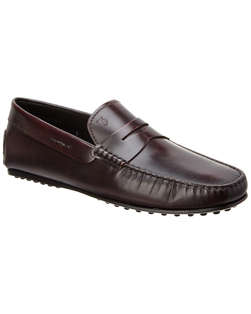 e450da7e4f3 Lyst - Tod S City Gommino Leather Loafer for Men