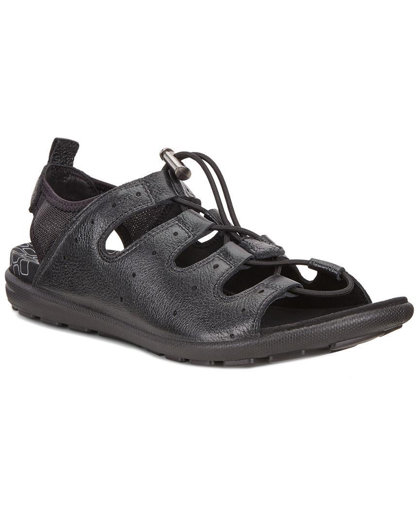 26b8edc641ef Lyst - Ecco Jab Toggle Sandal in Black - Save 37.096774193548384%