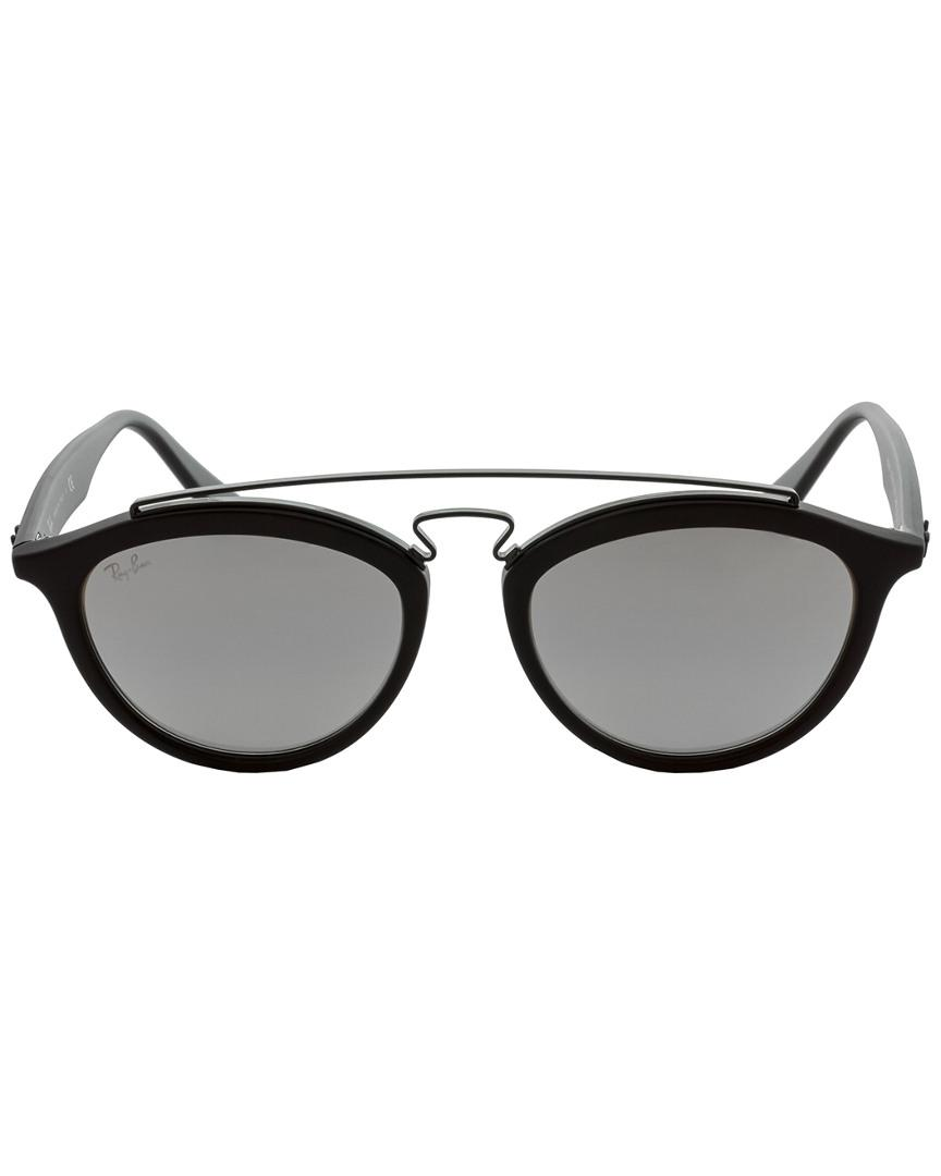 68041ff7c0 Ray-Ban Unisex Rb4257 53mm Sunglasses in Black - Lyst