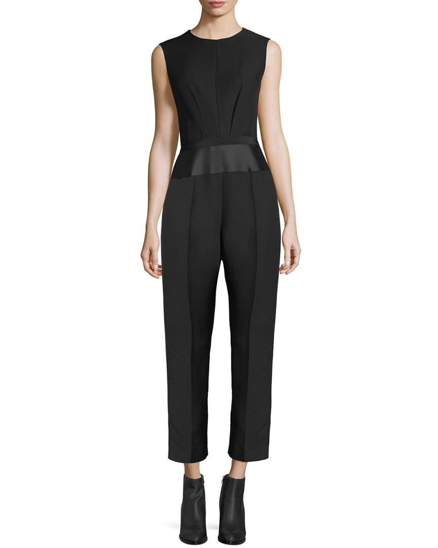 Lyst - Max Mara Andrea Overall Jumpsuit in Black - Save 12.5% 6f16a3b4e
