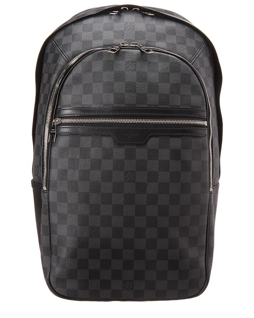 Lyst - Louis Vuitton Damier Graphite Canvas Michael in Black for Men faf74de1d61d3