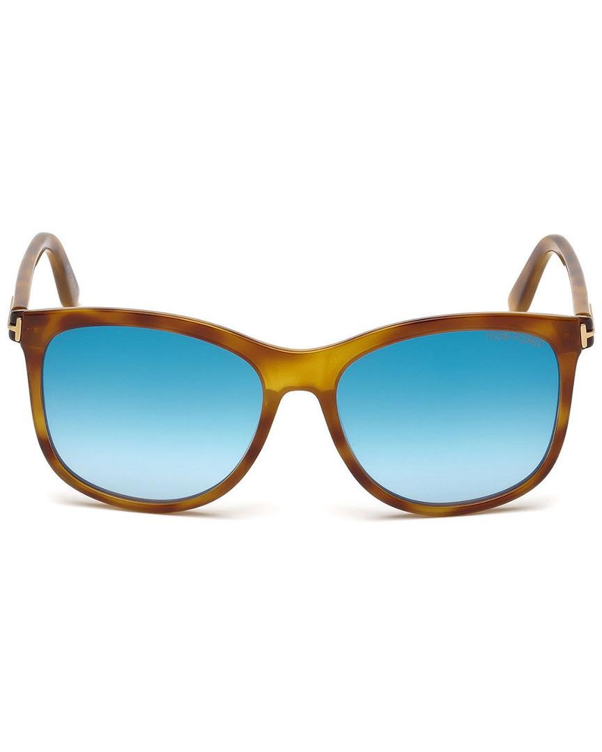 f794f85ebe1c Lyst - Tom Ford Fiona 56mm Sunglasses in Blue - Save 22%