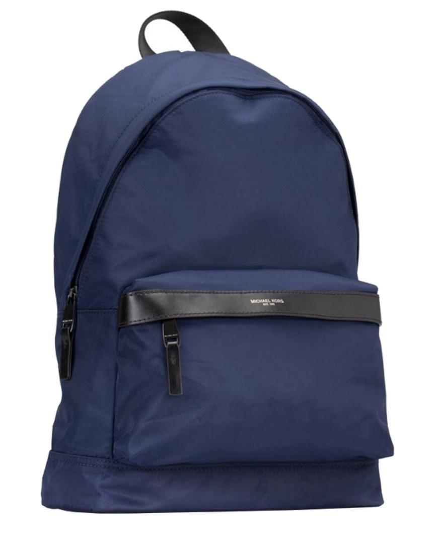 063305751f8c9 Lyst - Michael Michael Kors Kent Nylon Backpack in Blue