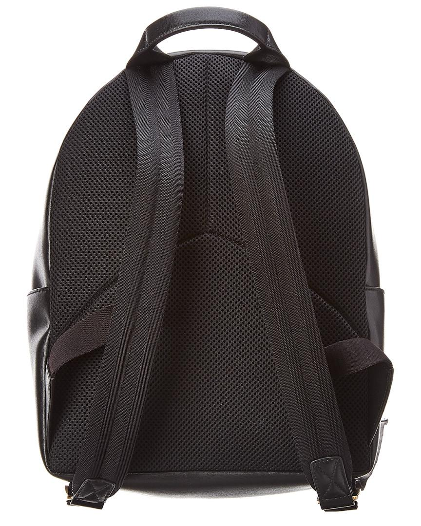 b787280039a6 Ferragamo City Leather Backpack in Black - Lyst
