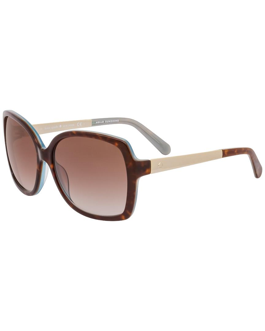 57dd3f7d90 Kate Spade New York Darilynn s 58mm Sunglasses in Brown - Lyst