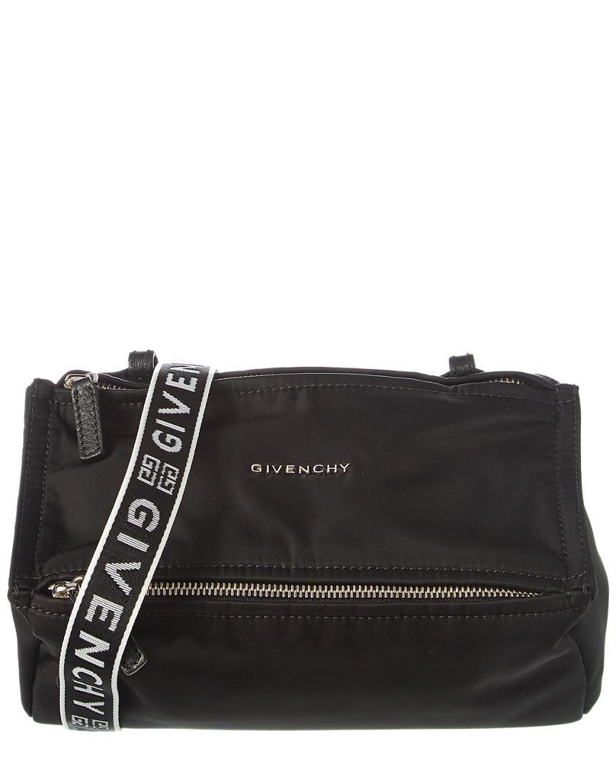6cd31d7feabc Givenchy - Black 4g Pandora Mini Nylon Shoulder Bag - Lyst. View fullscreen