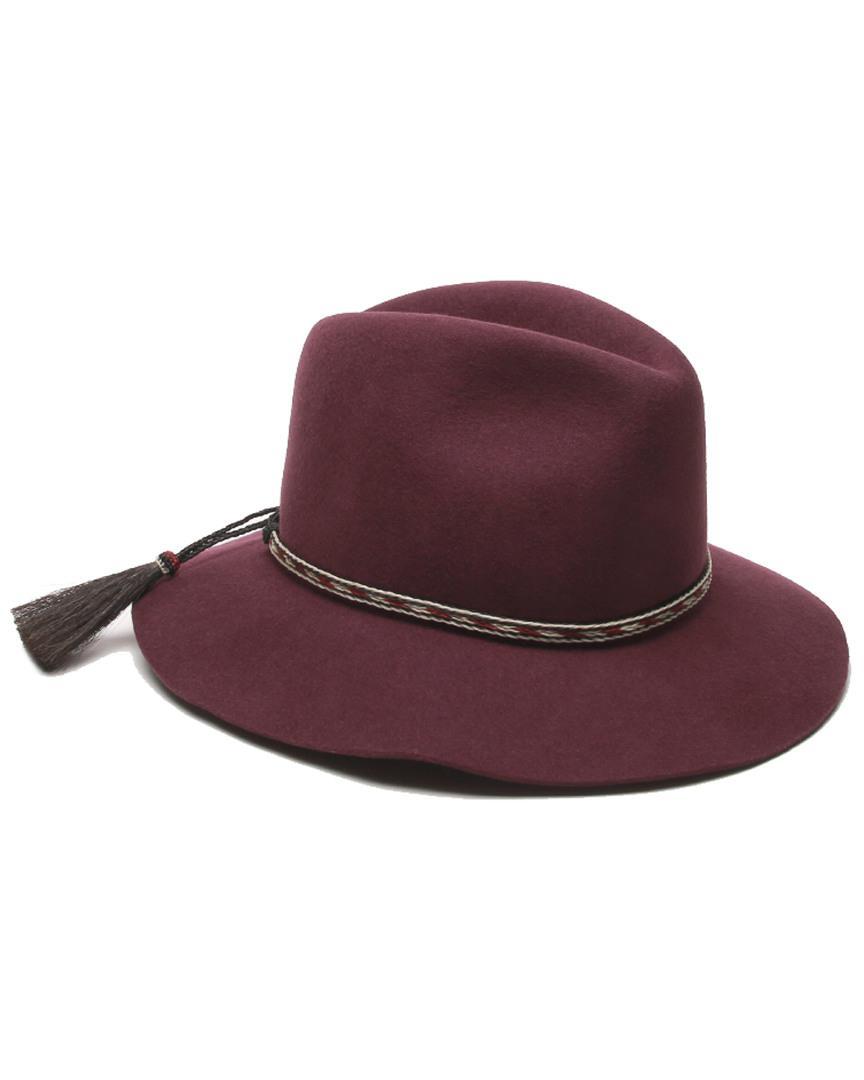 6795887d10c Lyst - Gottex Physician Endorsed Cavalo Hat in Purple
