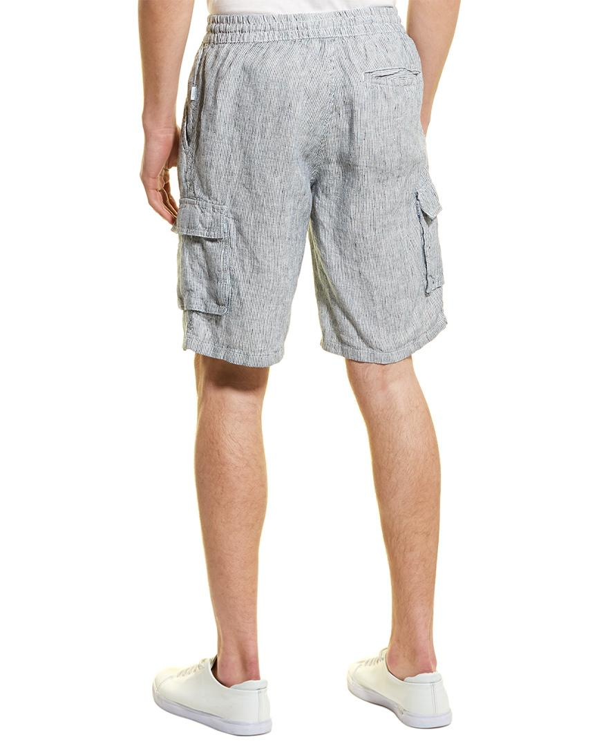 fd63281c27 Lyst - Onia Tom Linen Cargo Short in Blue for Men