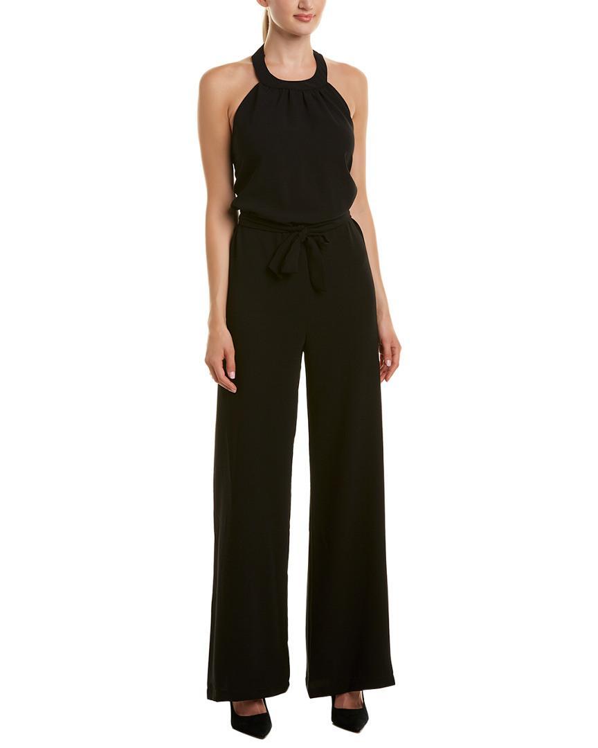 ad3cd1c9d425 Lyst - Amanda Uprichard Jumpsuit in Black