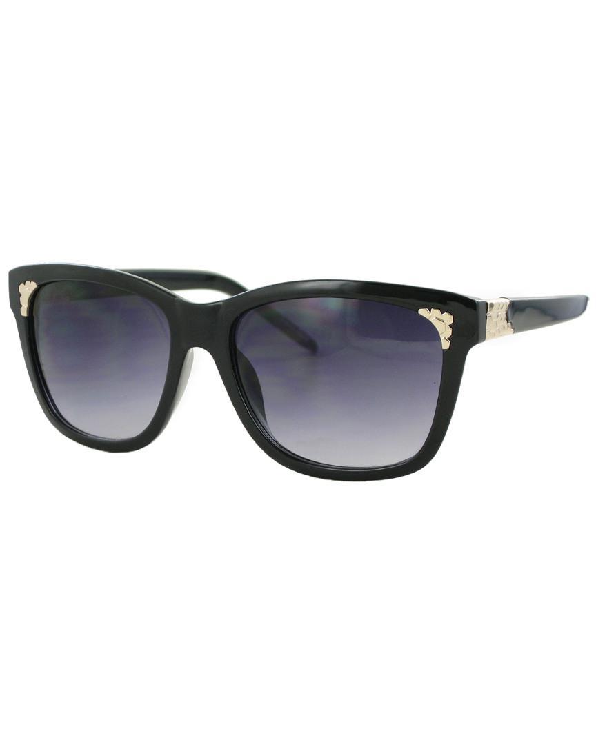 bb4800ecd0 Kay Unger Mia 55mm Polarized Sunglasses in Black - Lyst