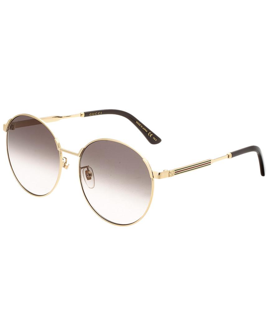 9443d1eb78b Gucci - Multicolor Women s 58mm Sunglasses - Lyst