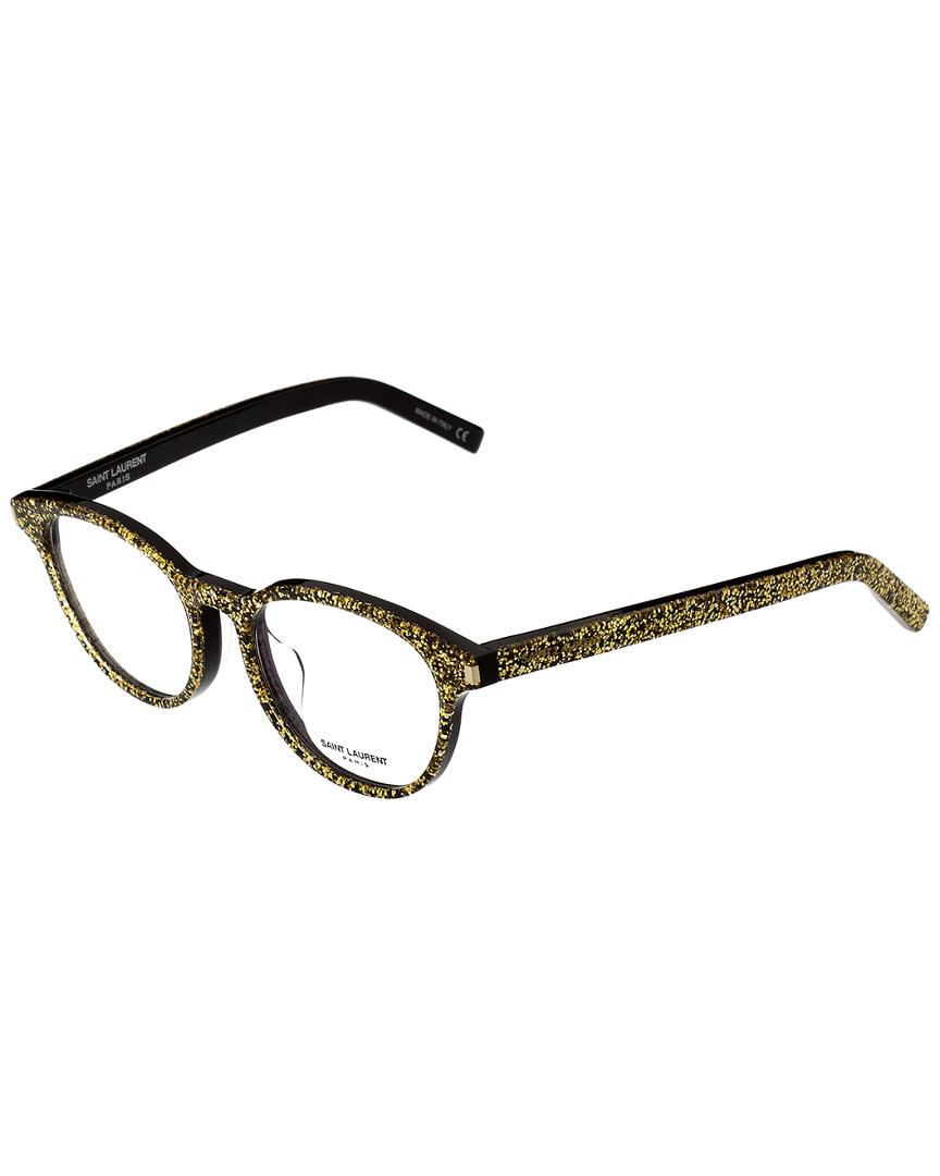 496f769fe6 Saint Laurent - Metallic Unisex Classic10f-30000176006 48mm Optical Frames  - Lyst. View fullscreen