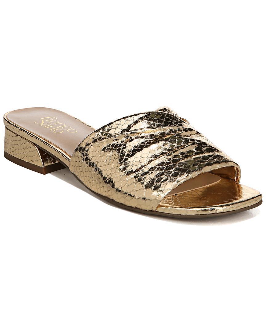 86b76e60890 Lyst - Franco Sarto Frisco Sandal in Metallic