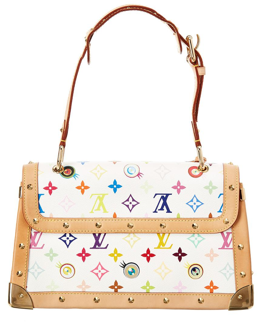 89120af7eaad Lyst - Louis Vuitton Limited Edition White Eyelove Monogram ...