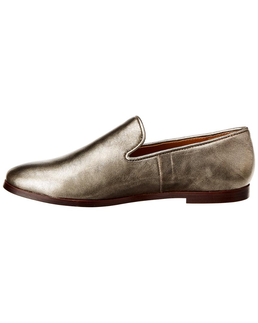 ef26d5a737e Lyst - Franco Sarto Rachella Leather Loafer in Metallic