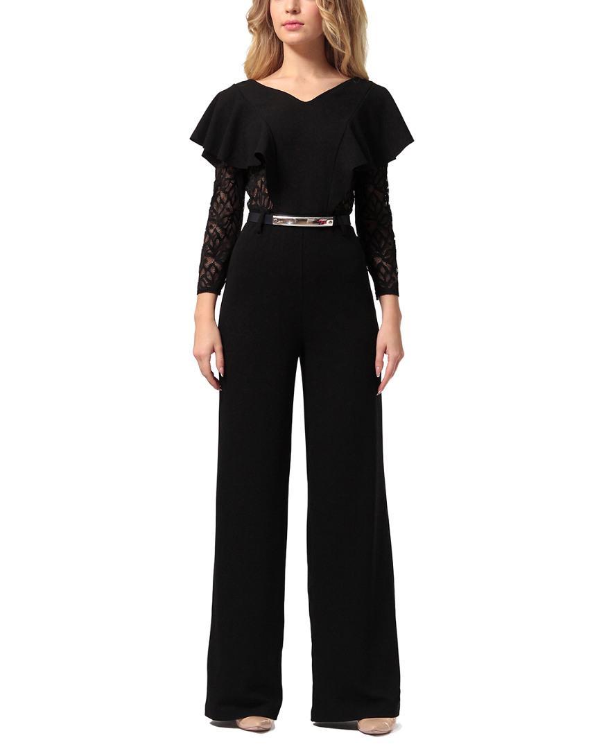 eb25e33c399 LADA LUCCI - Black Jumpsuit - Lyst. View fullscreen