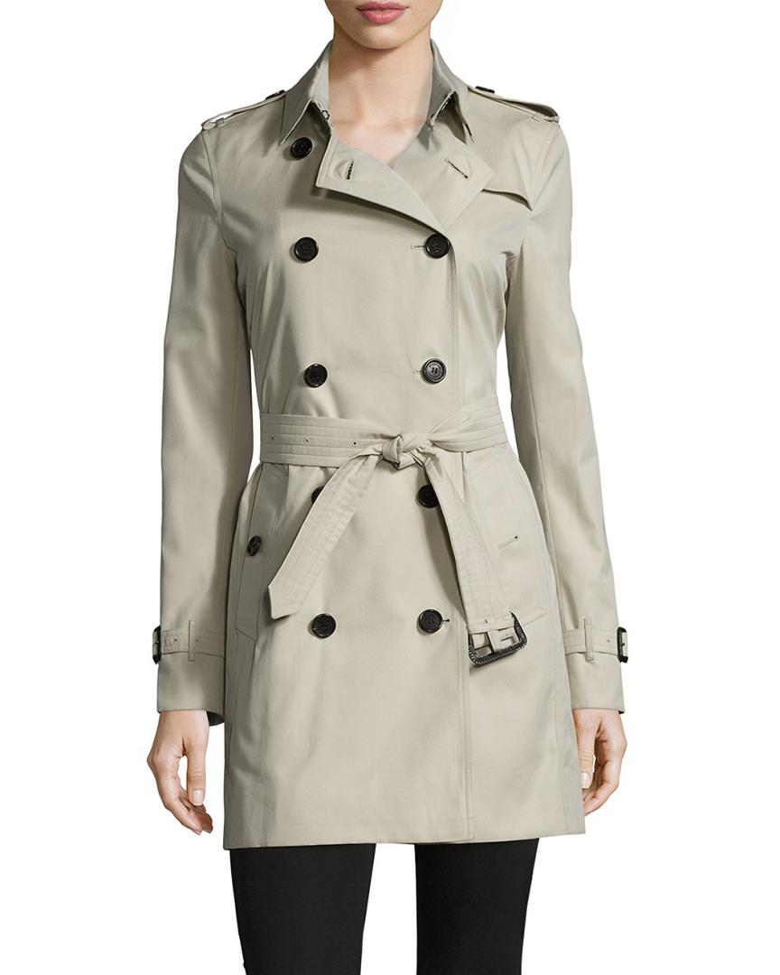0fb1c9665364 Burberry - Multicolor Kensington Mid-length Heritage Trench Coat - Lyst.  View fullscreen