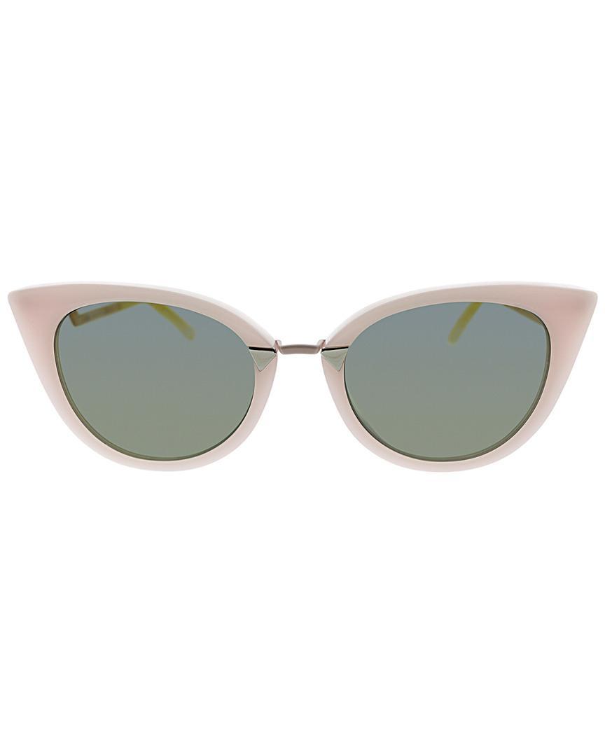 474b7ce530 Lyst - Fendi Cat Eye 55mm Sunglasses