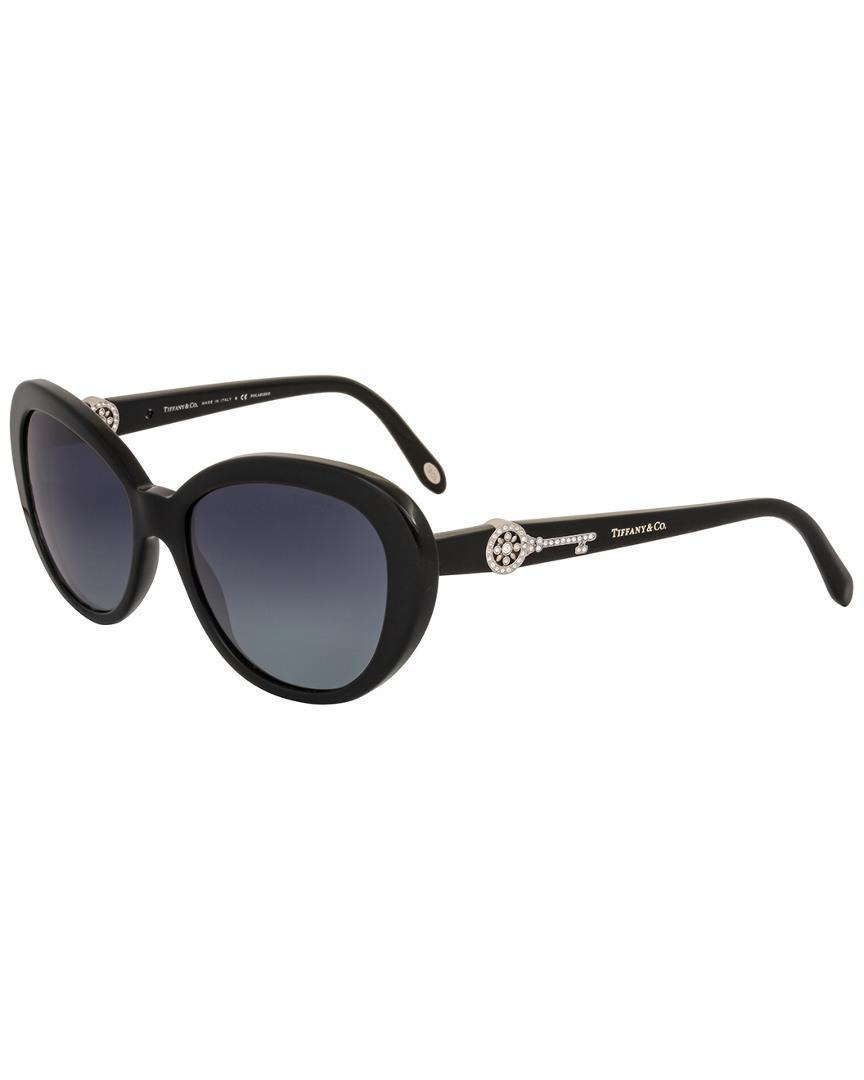 70b28c08d01 Lyst - Tiffany   Co   Co. Women s Tf4118b 55mm Polarized Sunglasses ...