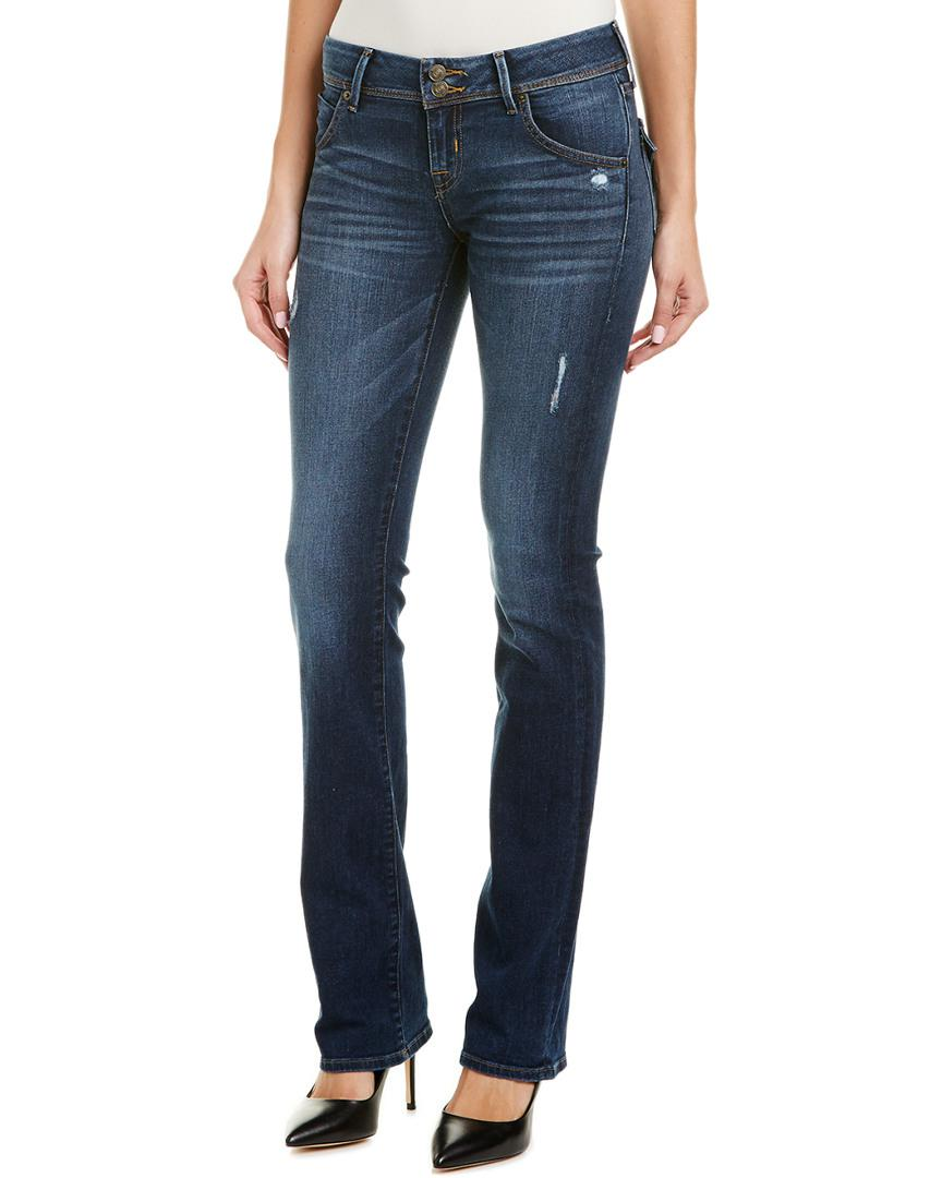 b72d3096e8a Lyst - Hudson Jeans Beth Wooster Baby Bootcut in Blue