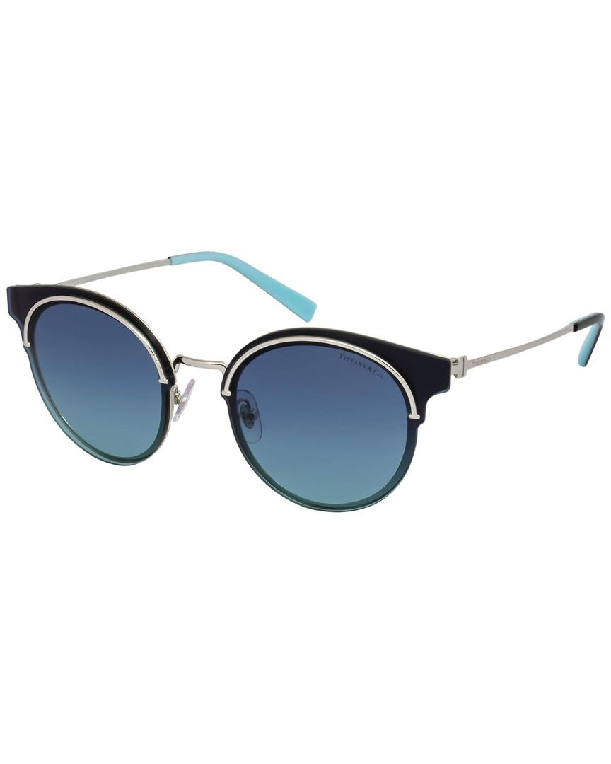 eae6779ee740 Tiffany & Co. & Co. Tf3061 64mm Sunglasses in Blue - Save 43% - Lyst