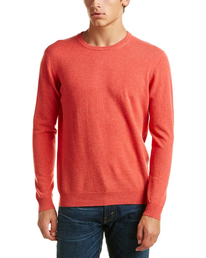 Kinross cashmere Forte Crewneck Cashmere Sweater in Red for Men ...