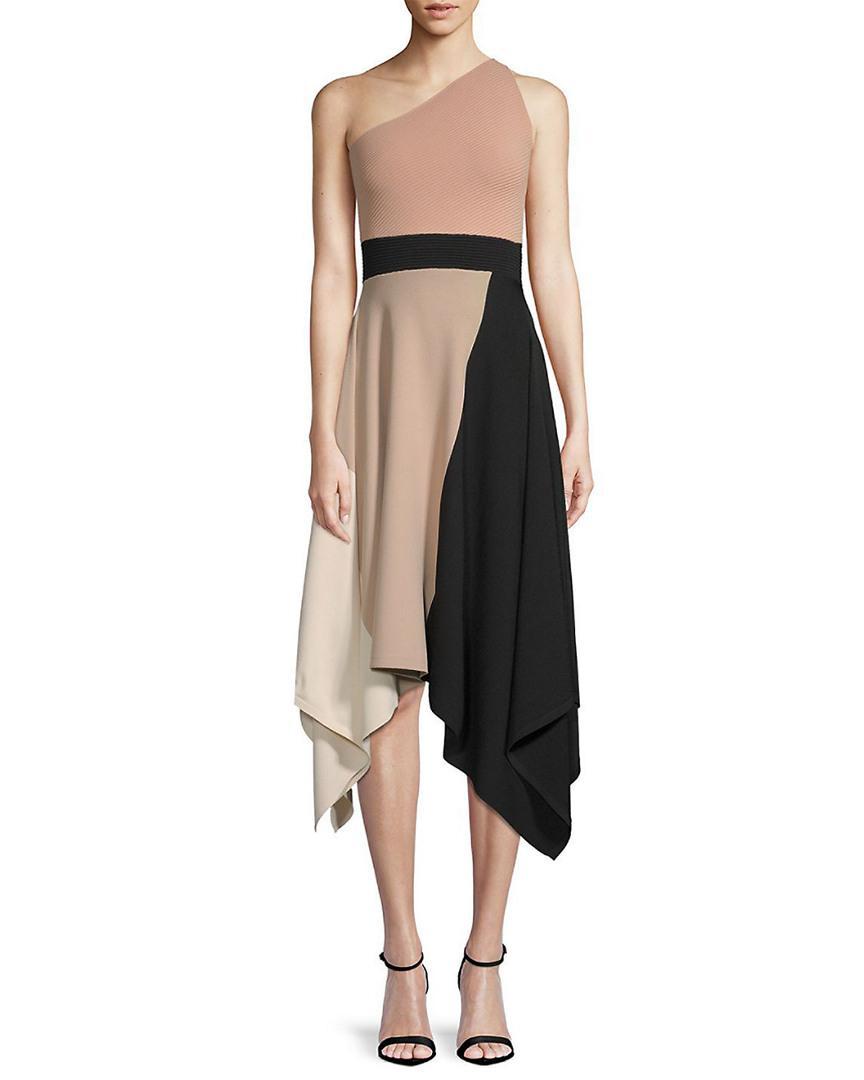 b29c5922a0927 Lyst - Ronny Kobo Teagan One-shoulder Handkerchief Dress - Save 47%