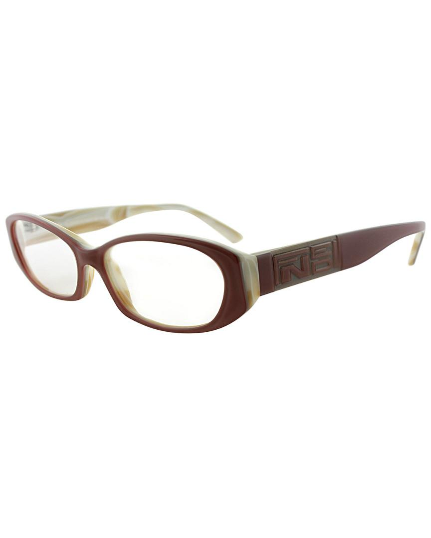 76e8ac83dc2a Lyst - Fendi Unisex Fe807 52mm Optical Frames in Brown - Save 1.25%