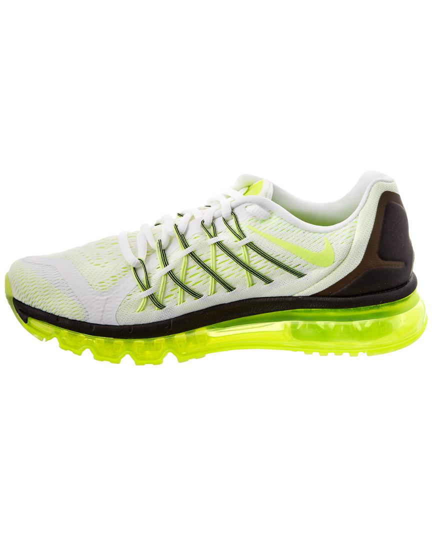 half off 73141 d144a Nike Unisex Air Max 2015 Sneaker in White - Lyst
