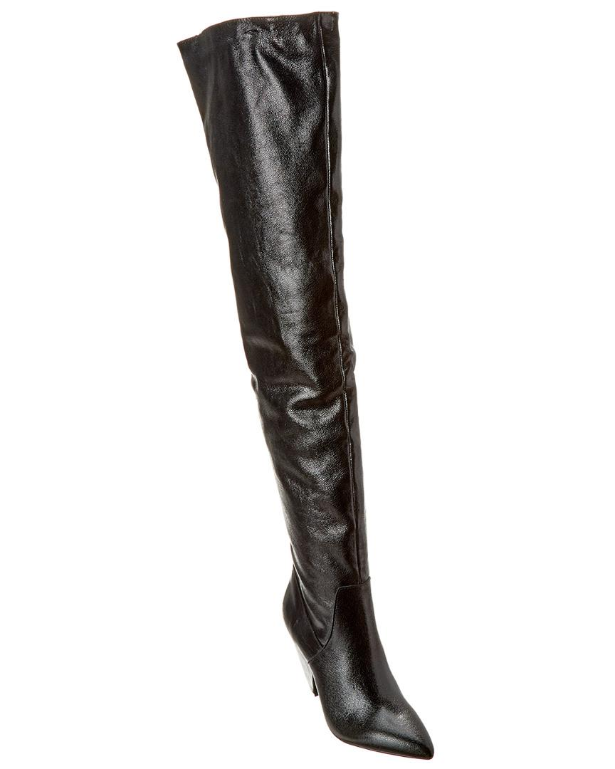 dcdfa2958a7 Lyst - Kenneth Cole New York Galway Leather Over-the-knee Boot in Black